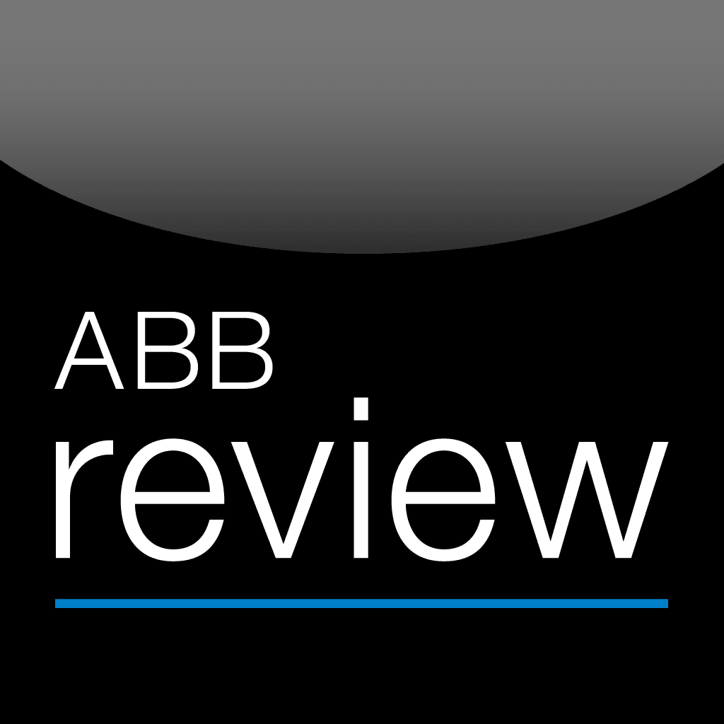 ABB Review - the corporate technology App from the ABB Group for iPhone & iPad