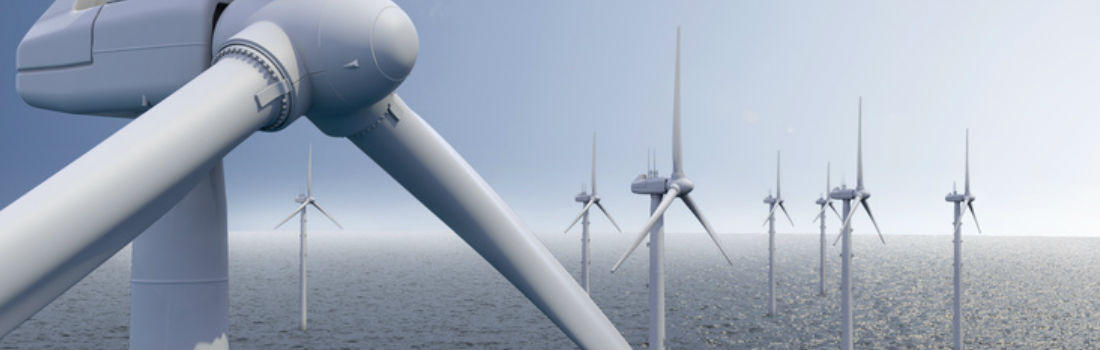 Ellis Patents Cable Cleats retain array, export and 33kV cables. Thanet Offshore Wind Farm Photograph - Vattenfal