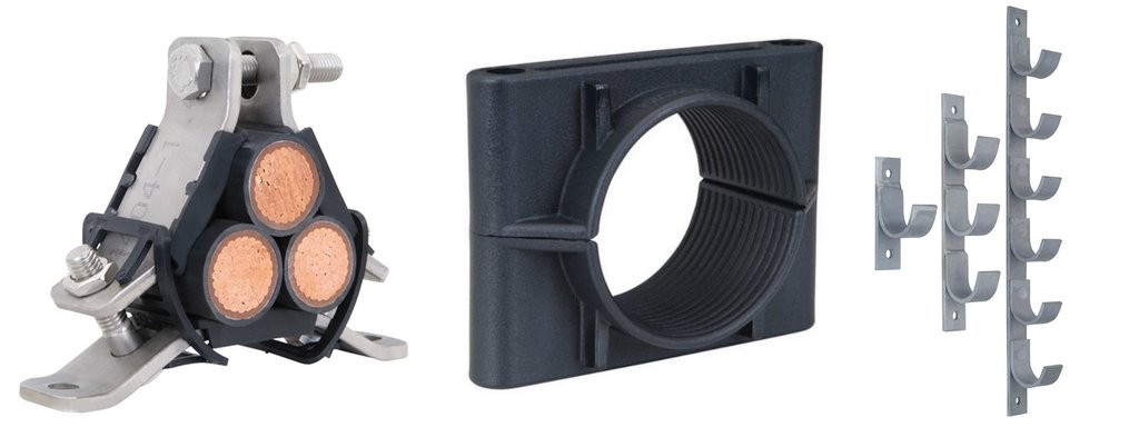 Ellis Patents Cable Cleats, Cable Clamps & Cable Hangers