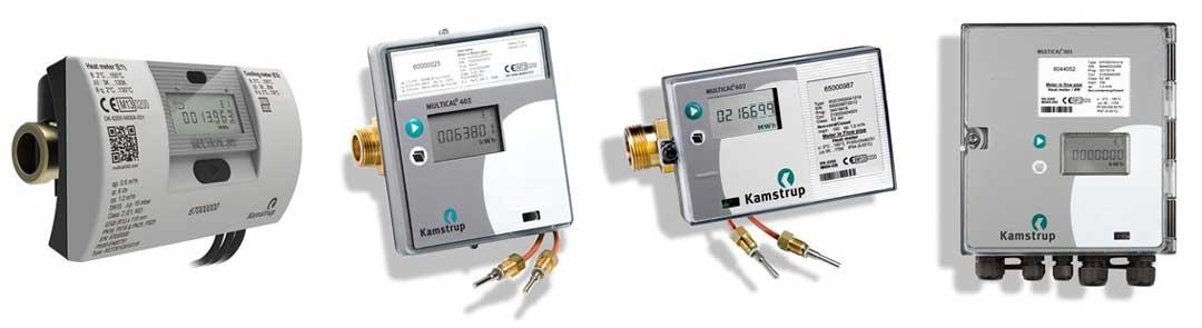 Kamstrup Heat Meters, Flow Meters, Energy Measurement Calculators