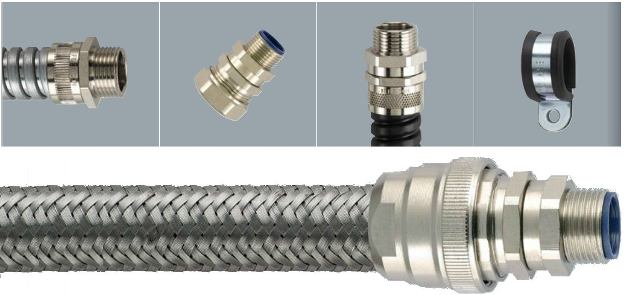 Flexicon Flexible Steel Conduits