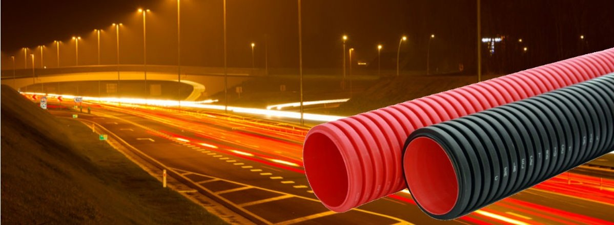 Polypipe Ridgiduct Underground Cable Protection