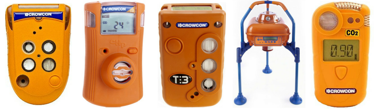 Crowcon Portable Gas Detectors