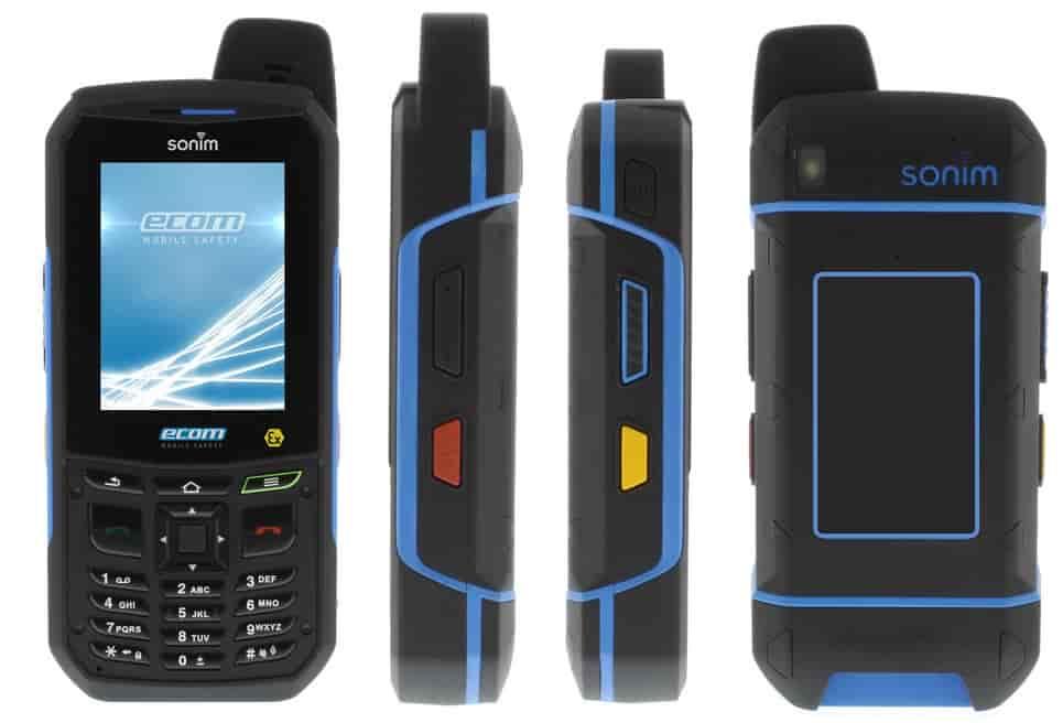 Ecom Ex Handy 09 Atex Hazardous Area Mobile Phone