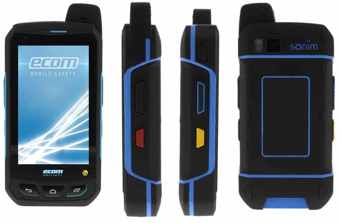 Ecom Smart Ex 01 Atex Hazardous Area Mobile Phone