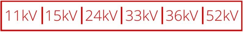 11kV to 52kV