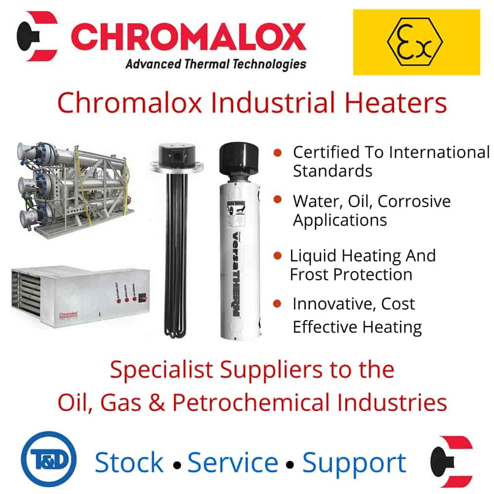 Chromalox Immersion Heaters Features And Benefits